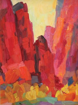 Larisa Aukon: Selected Sold Works - Reds and Yellows