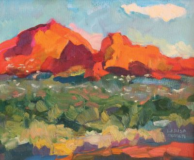 Larisa Aukon: Selected Sold Works - Afternoon in Sedona