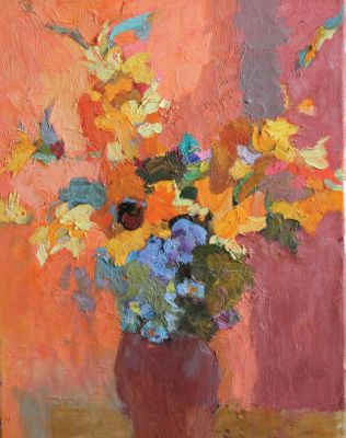Larisa Aukon: Selected Sold Works - Summer Floral