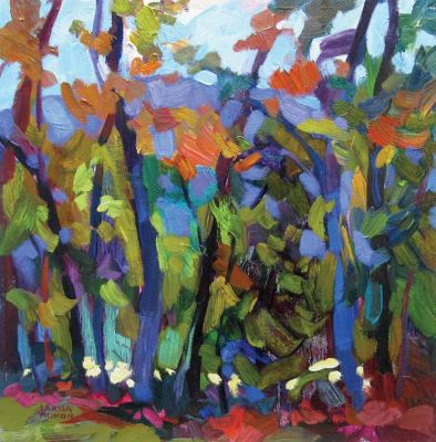 Larisa Aukon: Selected Sold Works - Along the Creek