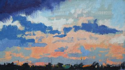 Click Here for Selected Sold Works - Sky II