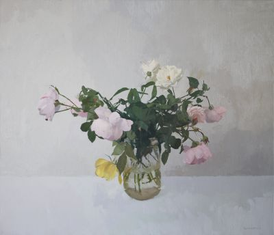 Click Here for Selected Sold Works - Garden Roses II