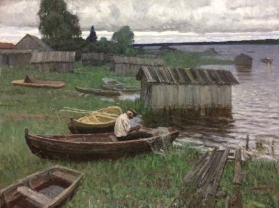 Vasily Hudyakov - Fisherman