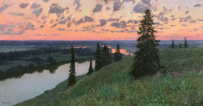 Vasily Hudyakov - Sunset