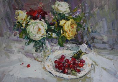 Andrey Inozemtsev - Roses and Cherries
