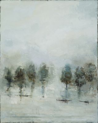Click Here for Selected Sold Works - Like a Blue Thread Loosened From the Sky