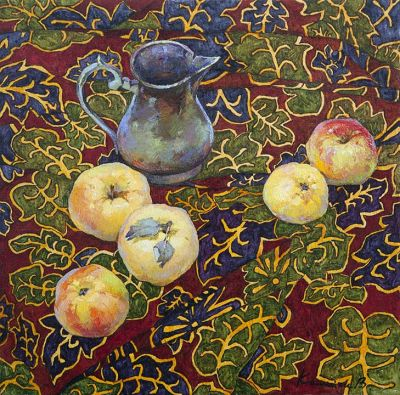 Click Here for Selected Sold Works - Apples
