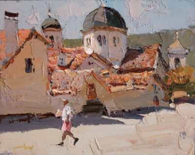 Click here to see selected sold works - On the Fortress Wall