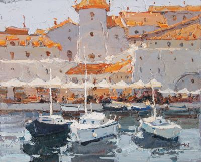 Click here to see selected sold works - In the Port