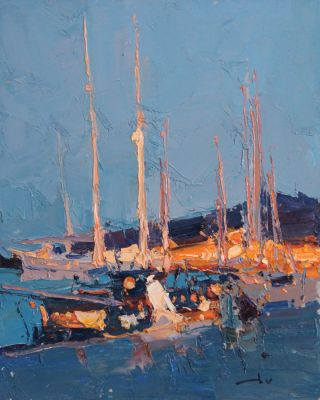 Click here to see selected sold works - Evening