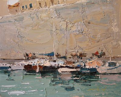 Click here to see selected sold works - At the Pier