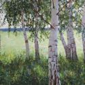 Vasily Hudyakov - Birch Grove