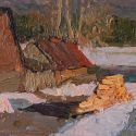Vasily Hudyakov - The Village of Kin, Evening
