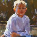 Julee Hutchison - Afternoon Glow - Sketch