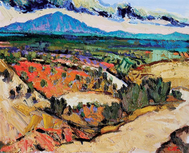 cCOTE 21 Brian Cote In the Distance 28 x 36 oil on canvas