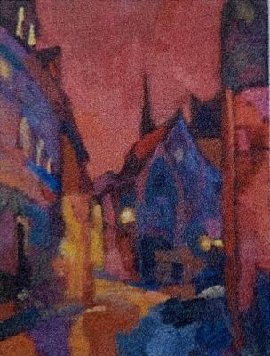 Larisa Aukon: Selected Sold Works - Streetlights
