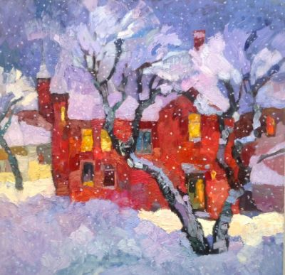 Larisa Aukon: Selected Sold Works - Wintertime