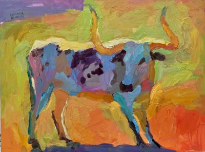 Larisa Aukon: Selected Sold Works - Sacred Animal