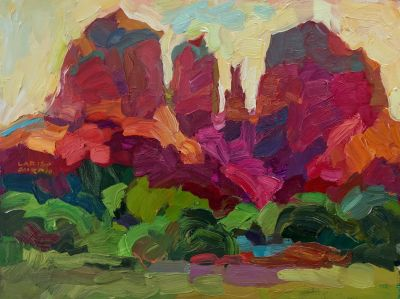 Larisa Aukon: Selected Sold Works - Cathedral