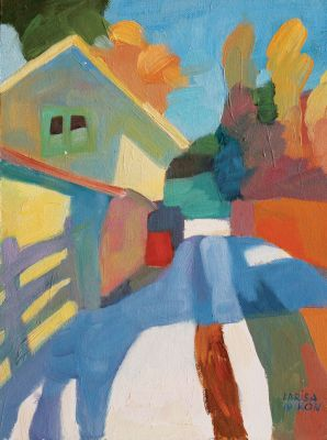 Larisa Aukon: Selected Sold Works - Shadow