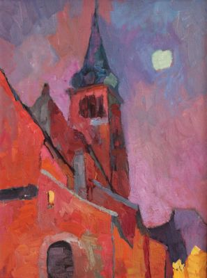 Larisa Aukon: Selected Sold Works - Riga Moon