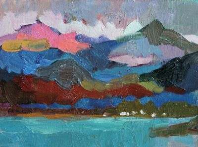Larisa Aukon - Clouds Over the Peaks