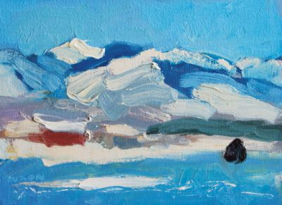 Larisa Aukon - Winter Blue