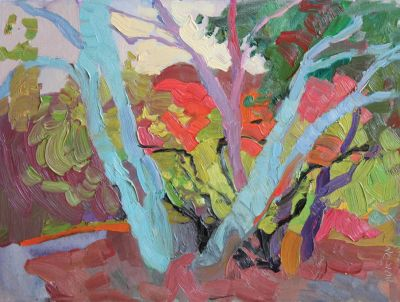 Larisa Aukon - Blue Tree