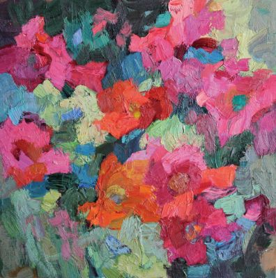 Larisa Aukon: Selected Sold Works - Wild Blooms