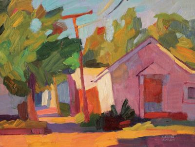 Larisa Aukon: Selected Sold Works - Alley