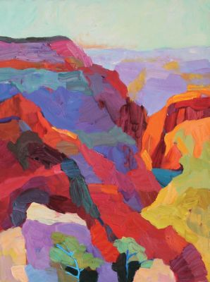 Larisa Aukon: Selected Sold Works - Canyon