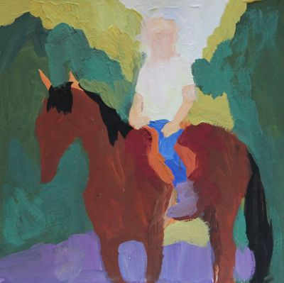 Larisa Aukon - Riding