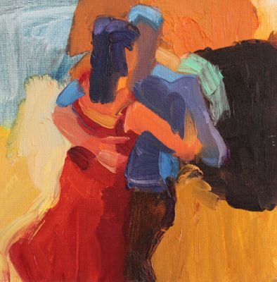 Larisa Aukon - Red Dress