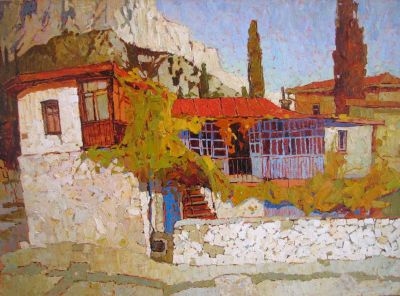 Click Here for Selected Sold Works - Fall in Alupka