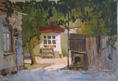 Click Here for Selected Sold Works - Cozy Evening