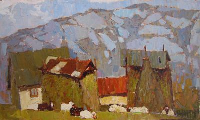 Click Here for Selected Sold Works - Noon in the Mountains