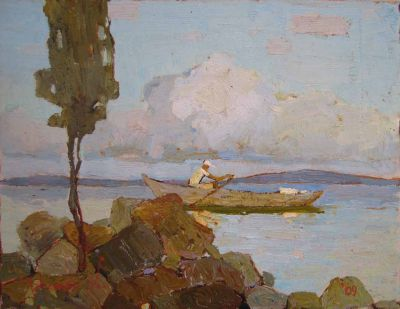 Click Here for Selected Sold Works - Evening Rower