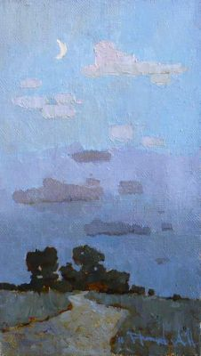 Click Here for Selected Sold Works - New Moon