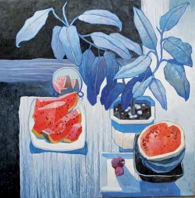 Click Here for Selected Sold Works - Summer Night