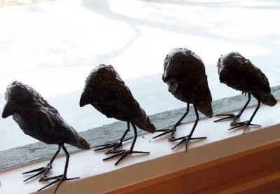 Click Here for Selected Sold Works - Murder of Crows