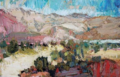 Click Here for Selected Sold Works - Beginnings of Summer