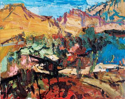 Click Here for Selected Sold Works - Above the Verde River