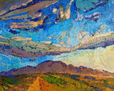 Click Here for Selected Sold Works - Clouds Over Estrella