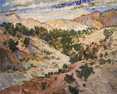 Click Here for Selected Sold Works - Desert View