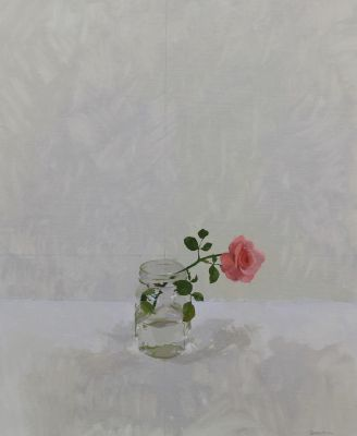 Click Here for Selected Sold Works - Pink Rose II