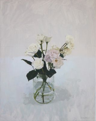 Click Here for Selected Sold Works - Garden Roes IV