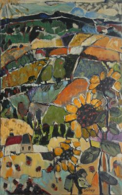Click Here for Selected Sold Works - Sun Flowers