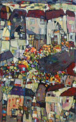 Click Here for Selected Sold Works - Flower Market