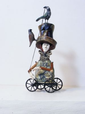 Click Here for Selected Sold Works - A Hat for Abundant Times