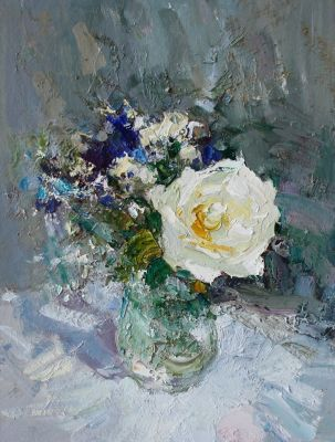 Click Here for Selected Sold Works - Spring Rose